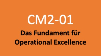 Kurs 01: Das Fundament für Operational Excellence